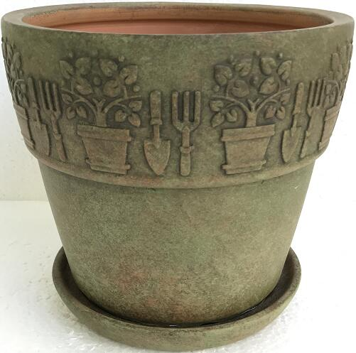 Better Homes&gardens Pottery-8in Vintage Pot