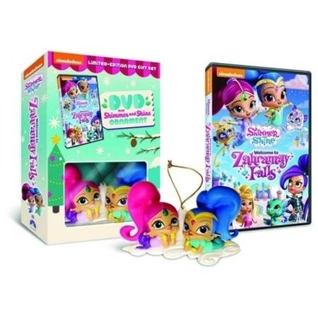 Shimmer And Shine: Welcome To Zahramay Falls (Limited Edition Gift Set) (Walmart Exclusive) (DVD + Shimmer And Shine Ornament) - Welcome Gift