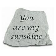 You Are My Sunshine Garden Stone