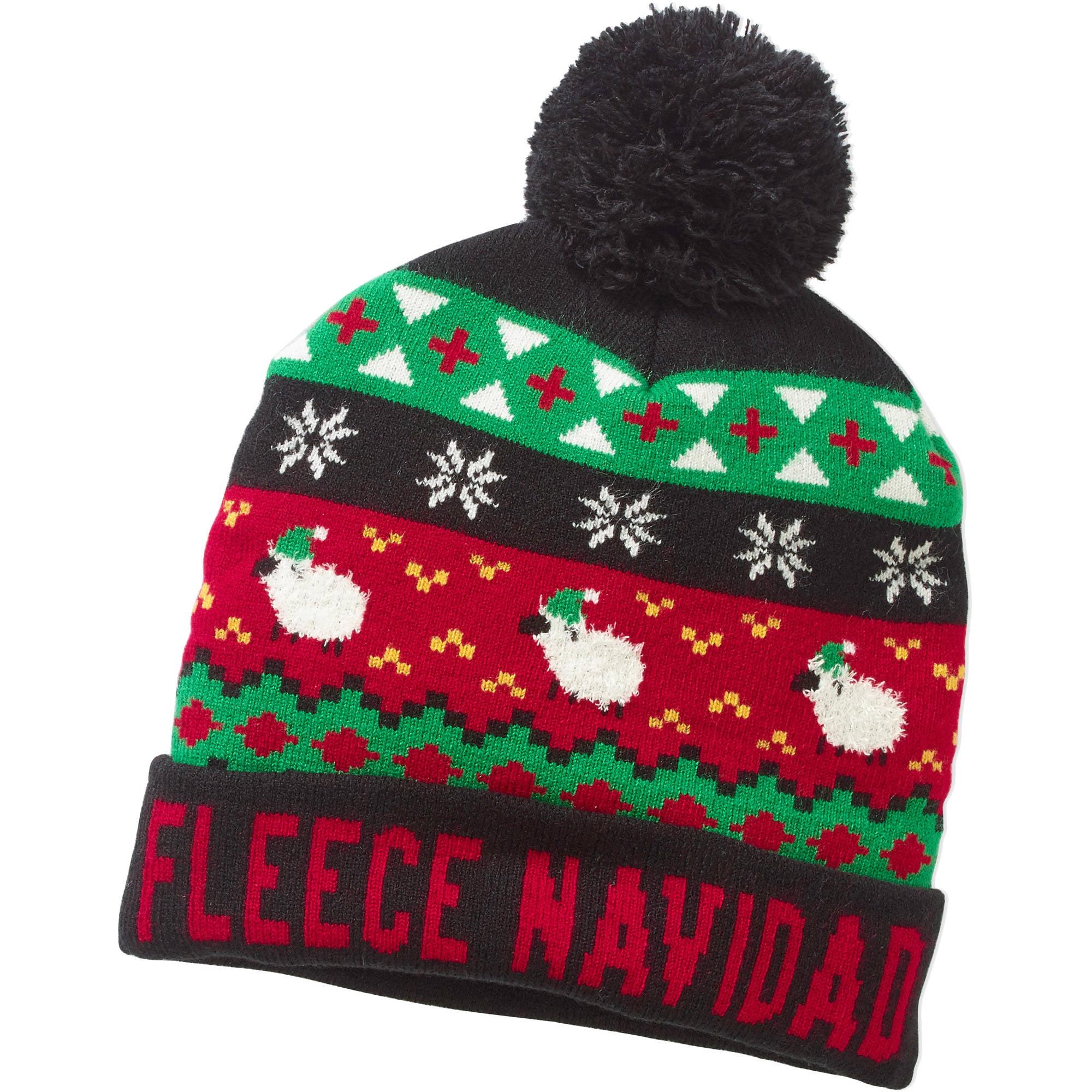 """Fleece Navidad"" Pom Beanie"