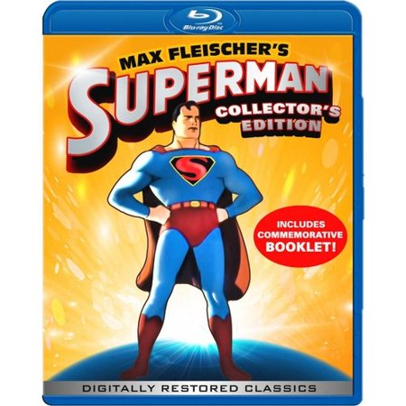 Max Fleischers Superman  Collectors Edition  Blu Ray   Full Frame