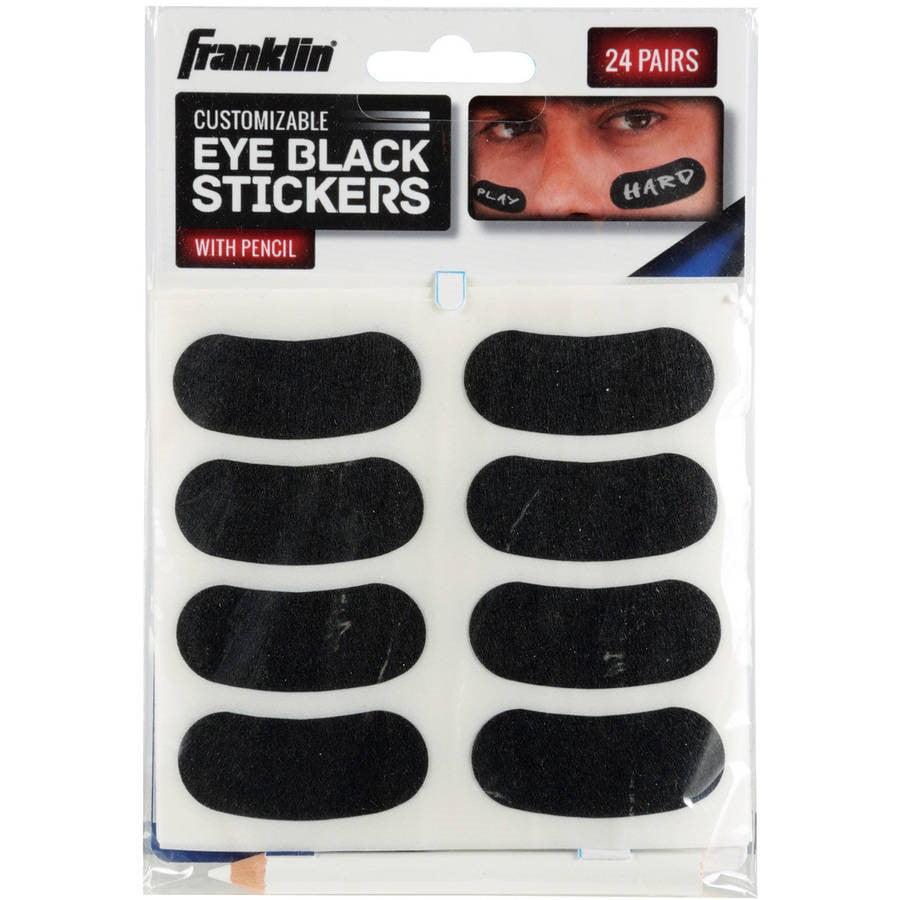 Franklin Sports Eye Black Stickers