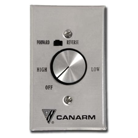 Dimmer Fan Speed Control (Canarm Variable Speed Switch Control for 4 Fans, Lot of)