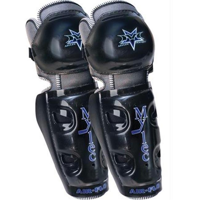 Olympia Sports HO259P Air-Flo Hockey Shin Guards - 12 in.
