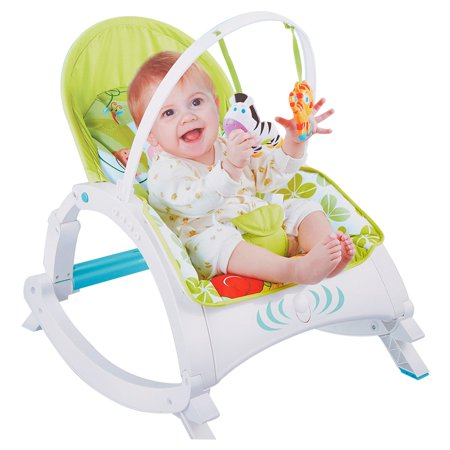 KARMAS PRODUCT Infant to Toddler Rocker Activity Play Centers for Boy