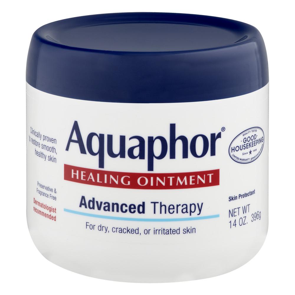 Aquaphor Advanced Therapy Healing Ointment Skin Protectant 14 oz. Jar