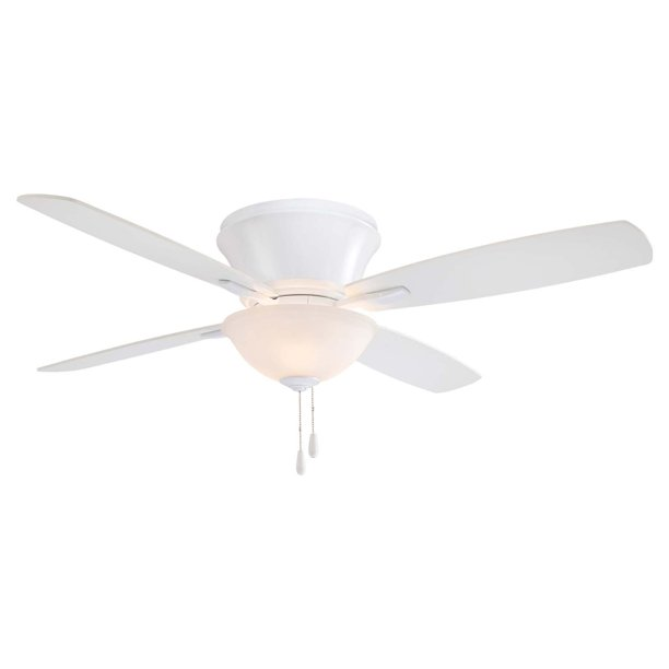 Minka Aire Mojo Ii Flush Mount Ceiling Fan With Light Walmart Com Walmart Com