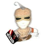 "Star Wars The Force Awakens Rey 4"" Plush Footzeez Comic Images Ep 7"