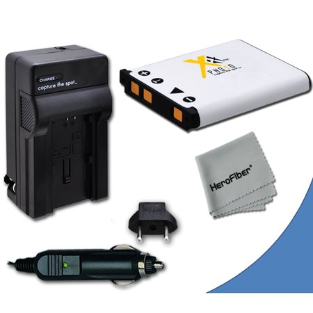 High Capacity Replacement Nikon EN-EL10 Battery with AC/DC Quick Charger Kit for Nikon Coolpix S3000 Digital Camera