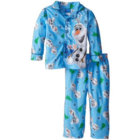 Disney And Nickelodeon Halloween Movies (Little Boys' Coat Pajama Set, Toddler Sizes 2T-4T, Frozen Olaf, Size:)
