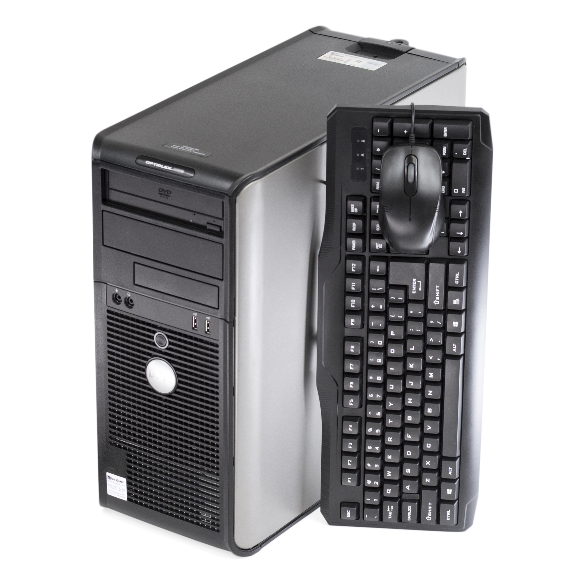 Dell Optiplex 780 Tower Core 2 Duo Dual Core 3.0Ghz 8Gb 500Gb Dvd Windows 10 Pro 64 Bit