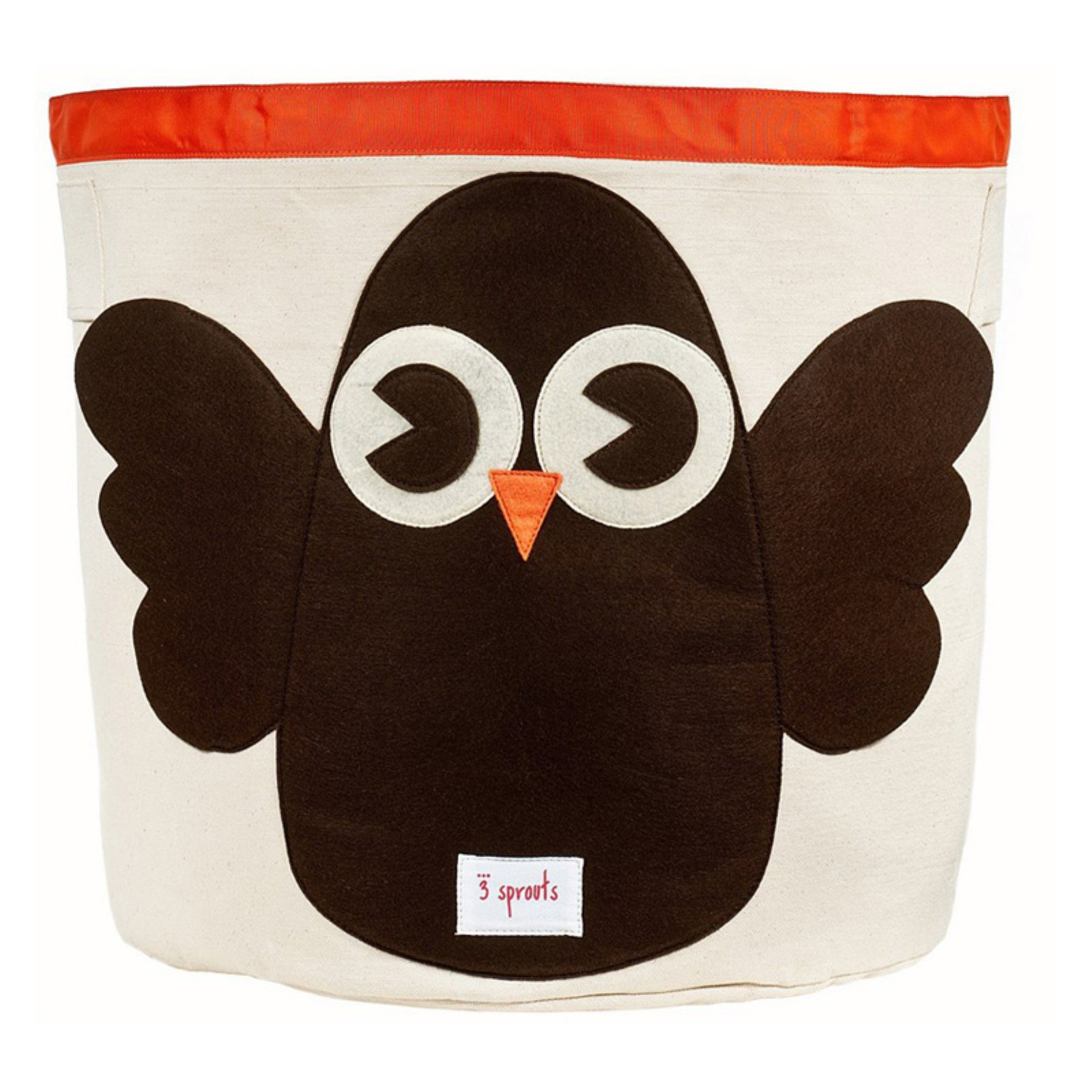 3 Sprouts Owl Storage Bin