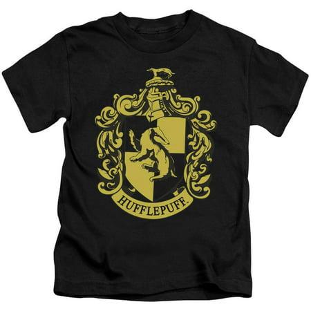 Harry Potter Hufflepuff Crest Little Boys Juvy Shirt