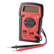 Digital Multimeter, 7 Funct, 8 Range, Tests AC/DC Volt, Resist, Diode, Continuity, Temp and Battery, Auto Ranging