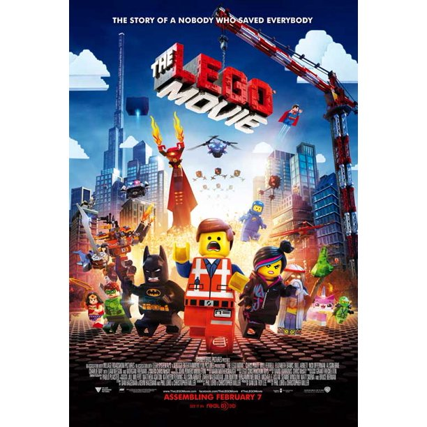 The Lego Movie 2014 11x17 Movie Poster Walmart Com Walmart Com