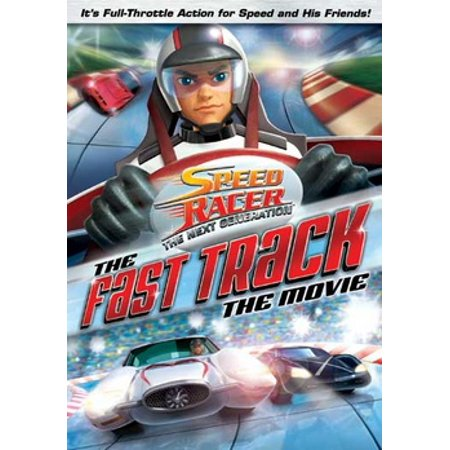Speed Racer The Next Generation: The Fast Track - The Movie (DVD) (Speed Racer The Movie)