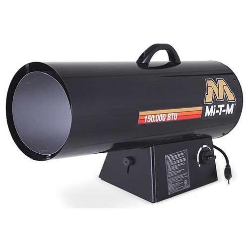 Mi-T-M 150,000 BTU Portable Natural Gas Forced Air Utility Heater