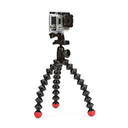 JOBY GorillaPod Action Video Tripod - A Strong, Flexible, Lightweight Tripod for GoPro HERO6 Black, GoPro  HERO5 Black, GoPro HERO5 Session, Contour and Sony Action