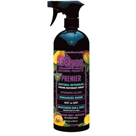 Premier Grooming (Eqyss Grooming Products D-Premier Natural Botanical Equine Rehydrant Spray 32 Ounce)