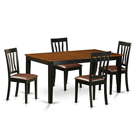Nian5 bch lc 5 pc kitchen table set dining table and 4 for 8 pc kitchen set