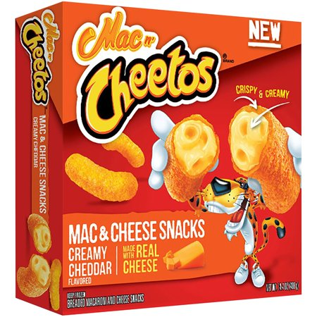 mac n cheetos mac cheese snacks creamy cheddar flavored 14 4 oz