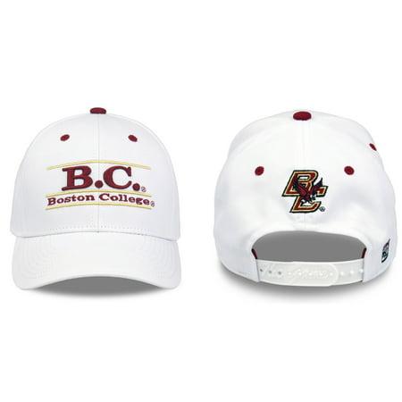Boston College Eagles Adult Game Bar Adjustable Hat - White