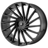 """Asanti ABL-18 Matar 20x8.5 6x135/6x5.5"""" +30mm Gloss Black Wheel Rim 20"""" Inch"""