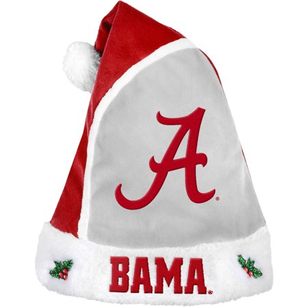 Forever Collectibles NCAA 2015 Santa Hat, University of Alabama Crimson Tide