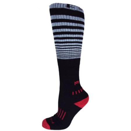 62b0f3eee4a MOXY Socks - MOXY Socks Black with Grey Knee-High Premium