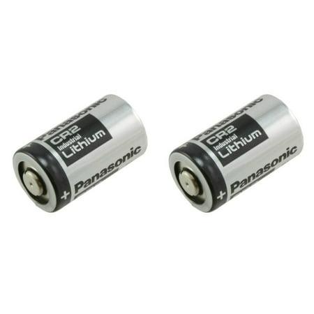 Panasonic CR2 3.0V Photo Lithium Battery - 2 Pack + 30%