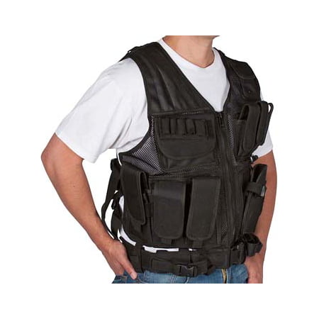 Adjustable Tactical Military and Hunting Vest By Modern Warrior (Rap4 Tactical Paintball Vest)