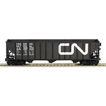 Bowser Ho Scale 100 Ton 3 Bay Coal Hopper Canadian National Cn Black  326025