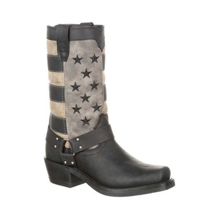 Women's Durango Boot DRD0219 Faded Flag Harness Boot
