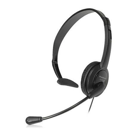 Mondo Head (Panasonic KX-TCA400 Over The Head Mono Headset w/ 2.5mm Headset Plug & Noise-Canceling Microphone )