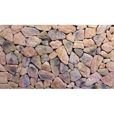 LAMINATED POSTER Layer Background Texture Stones Design Rocks Wall Poster Print 24 x