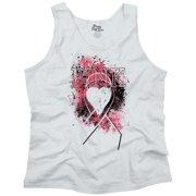 Brisco Brands Pretty Breast Cancer Awareness Tank Top T-Shirt For Women