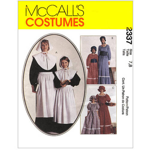 McCall's Misses' and Girls' Costumes, Miss (8, 10)