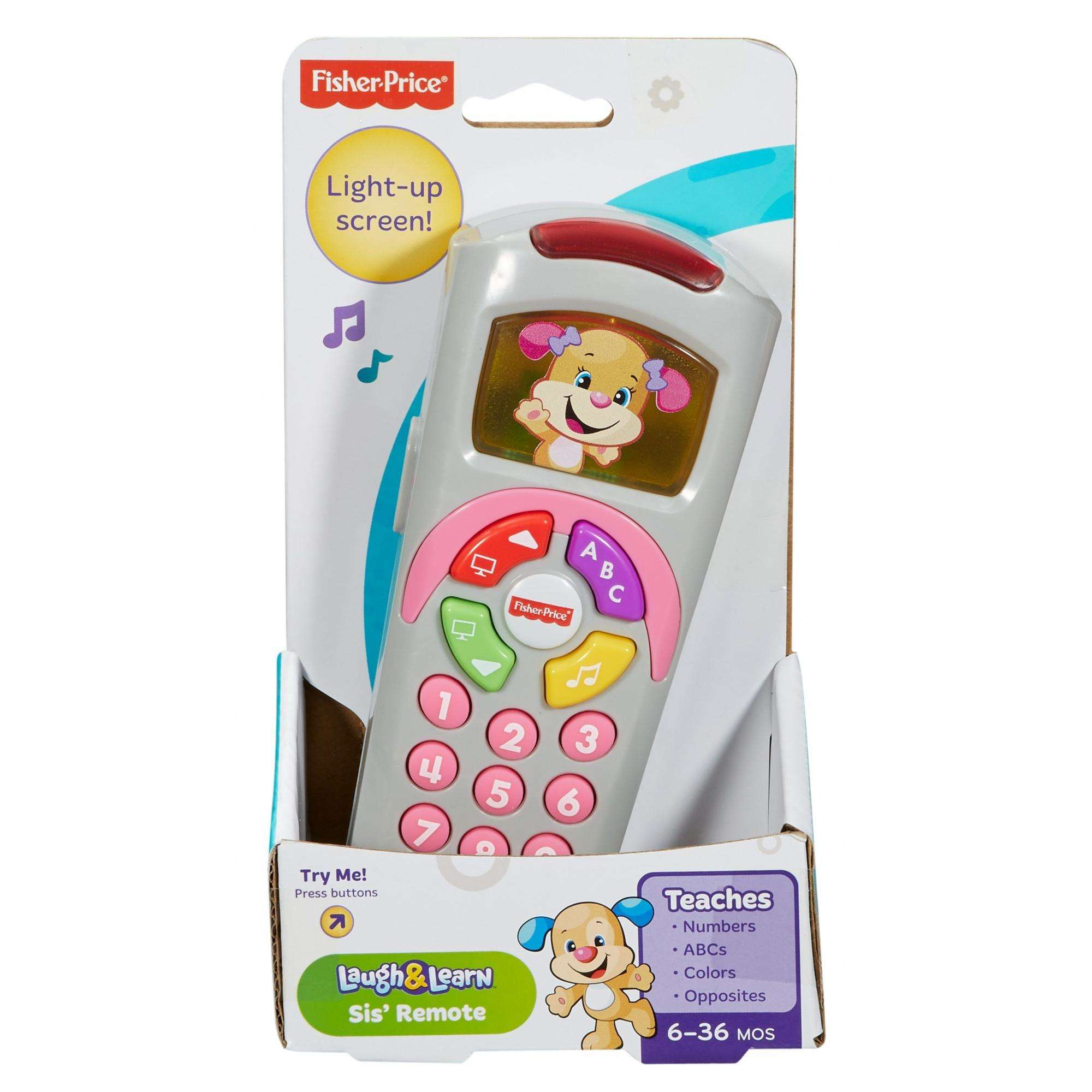 Fisher-Price Laugh /& Learn Sis/' Remote