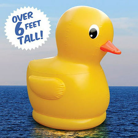 6 Giant Inflatable Rubber Ducky Walmart Com