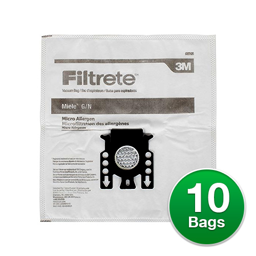 Filtrete Vacuum Bag for Miele 68705/Type G/N (2 Pack)