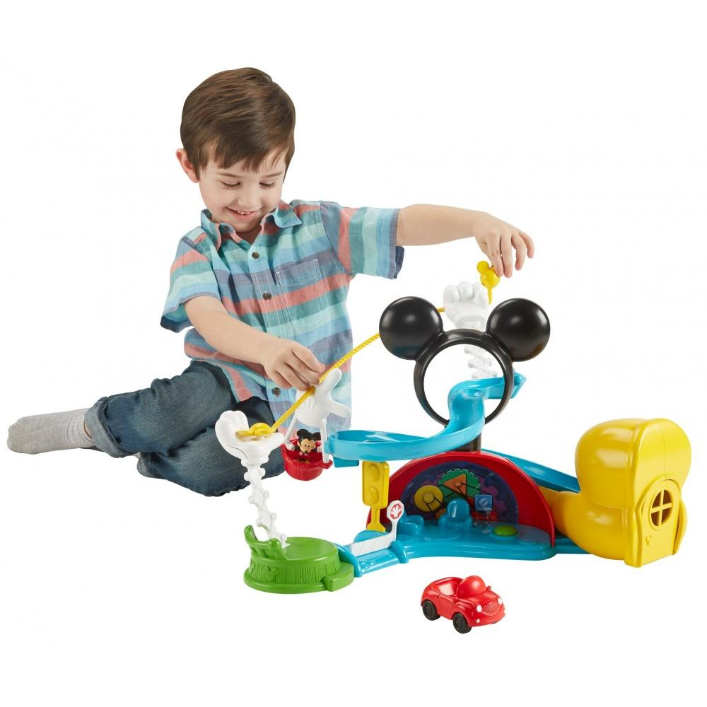 Fisher Price Disney Mickey Mouse Clubhouse � Zip, Slide And Zoom Clubhouse by Fisher-Price