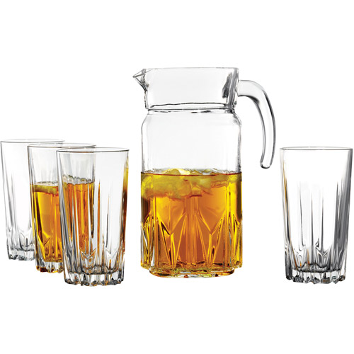 Florence 5Pc Beverage with Pitcher Set