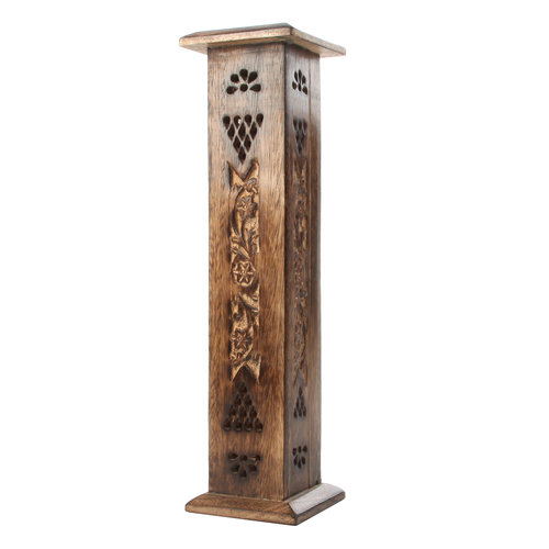Elegant Expressions by Hosley Incense Stick Holder Tower