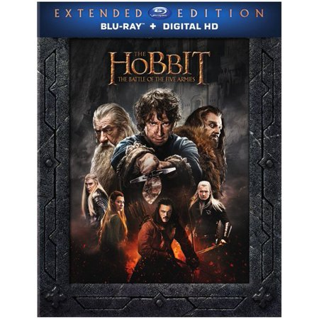The Hobbit  The Battle Of The Five Armies  Extended Edition   Blu Ray