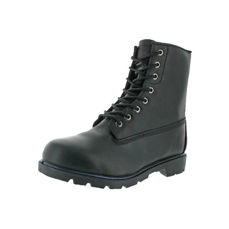 Rubicon Mens Leather Waterproof Work Boots