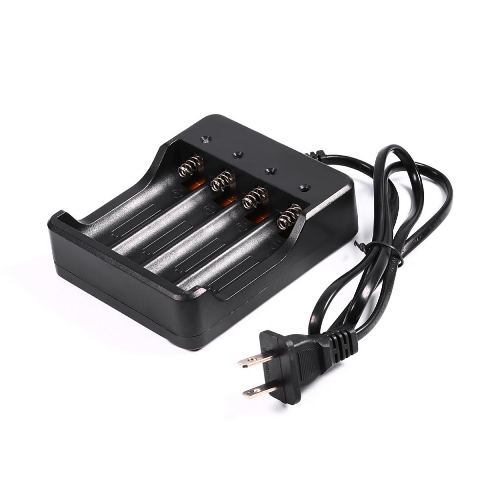 Yosoo 4 Slots Battery Charger For 18650 Lithium Rechargeable Battery US Plug,Battery Charge