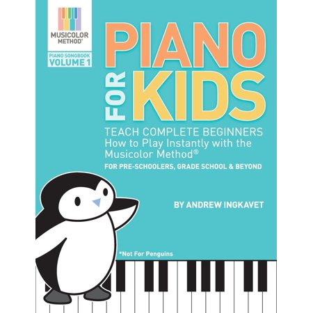 Halloween Art Ideas For Preschoolers (Piano for Kids : Teach Complete Beginners How to Play Instantly with the Musicolor Method - For Preschoolers, Grade Schoolers and)