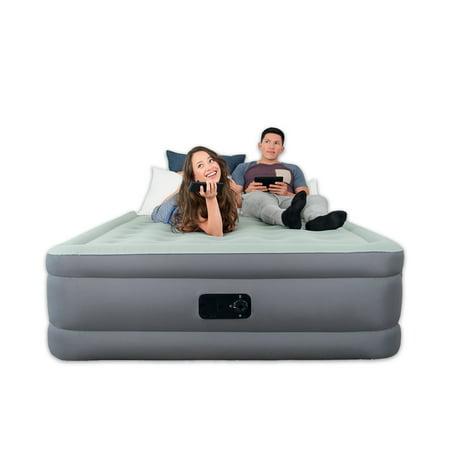Bestway® SleepLux Queen Size Airbed w/ Built-in Electric Pump