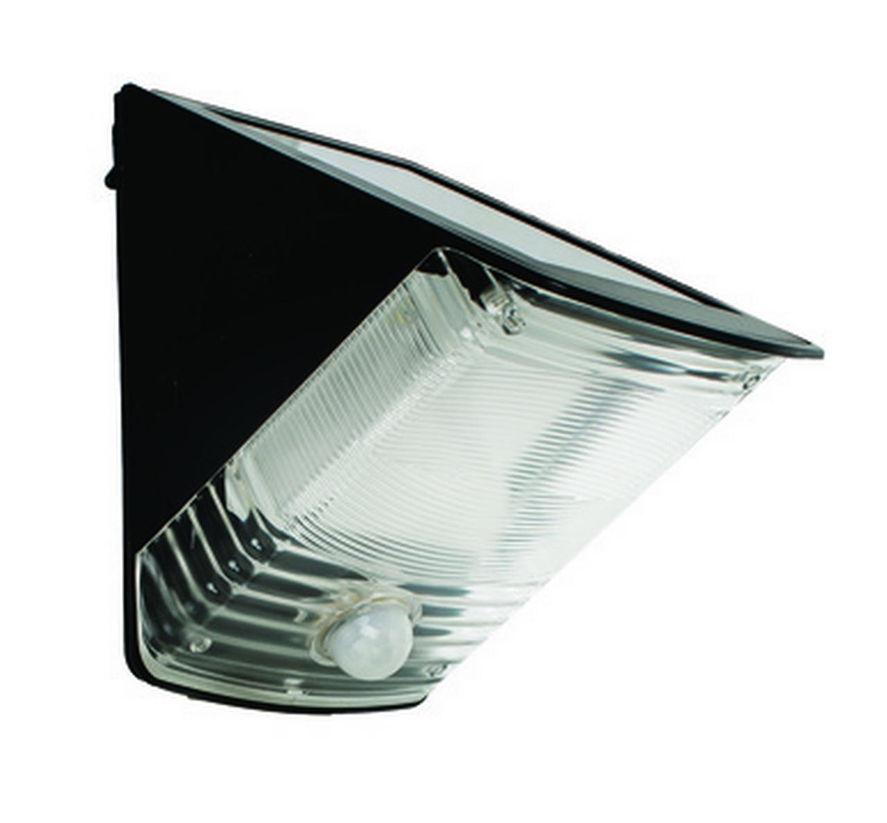 Solar Wedge Motion activated Light Black by Solar Lights