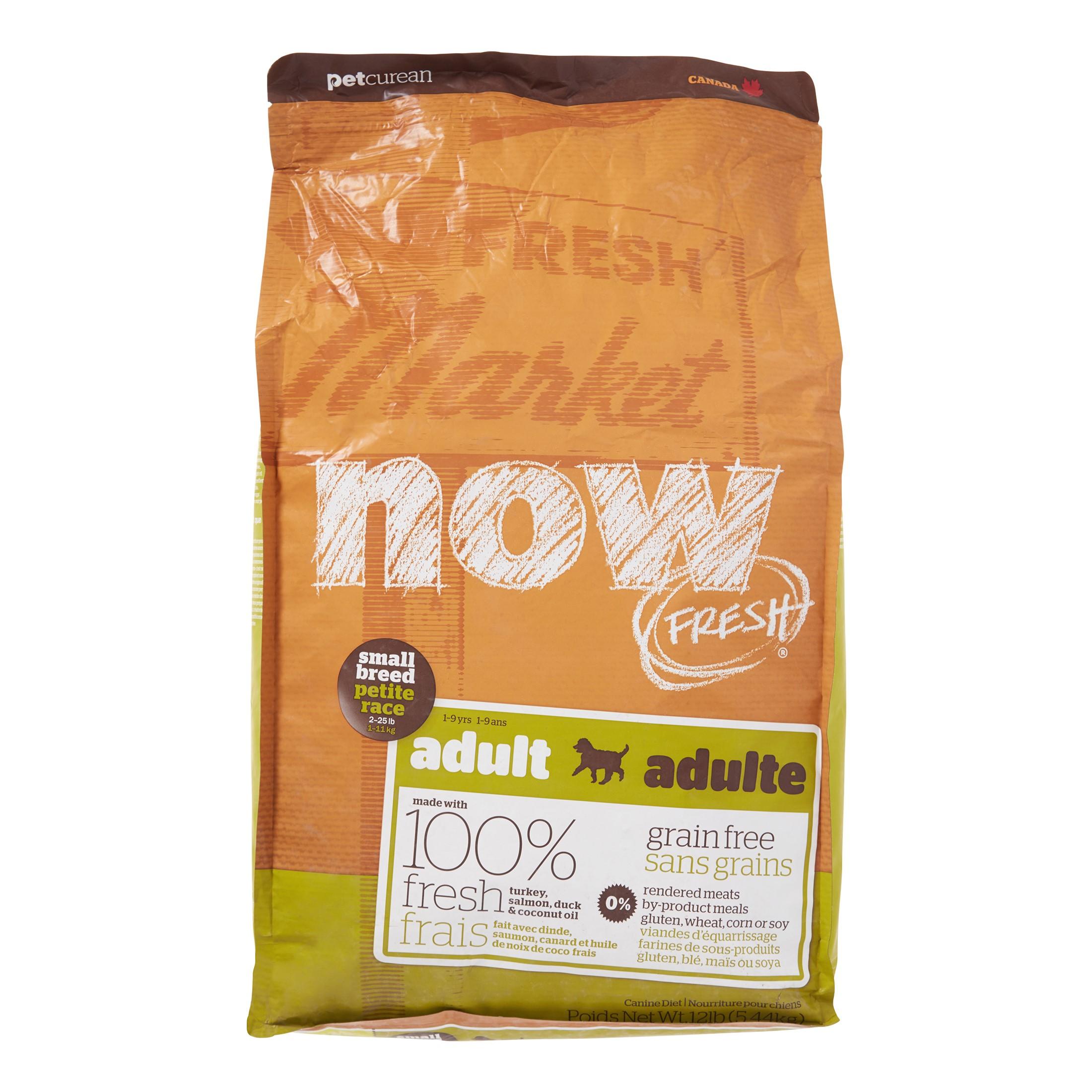 Petcurean Now Fresh Grain-Free Small Breed Adult Recipe Dry Dog Food, 12 Lb